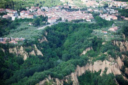 Le Balze e Castelfranco