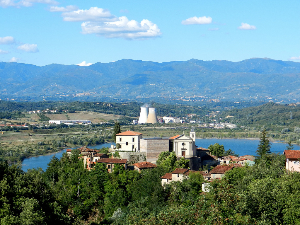 The Arno Valley as a land of work