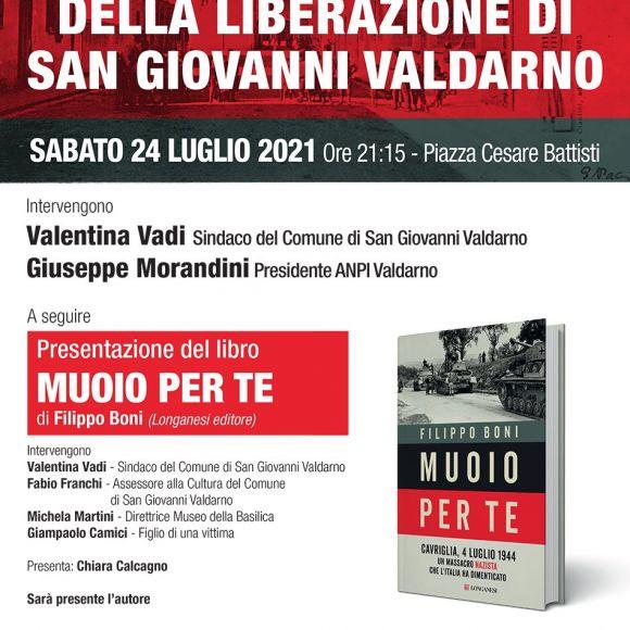 77° anniversario della liberazione di San Giovanni Valdarno
