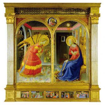 Museo della Basilica di S. Maria delle Grazie, Annunciazione, Beato Angelico